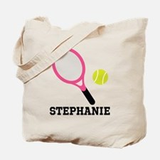 Personalized Tennis Gift Tote Bag