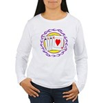 Hot Aces Gambler Women's Long Sleeve T-Shirt