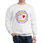 Hot Aces Gambler Sweatshirt