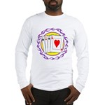 Hot Aces Gambler Long Sleeve T-Shirt