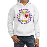 Hot Aces Gambler Hooded Sweatshirt