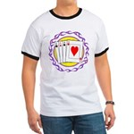 Hot Aces Gambler Ringer T