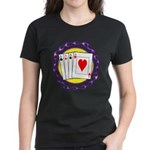 Hot Aces Gambler Women's Dark T-Shirt