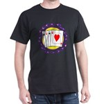 Hot Aces Gambler Dark T-Shirt