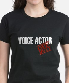 Off Duty Voice Actor Tee