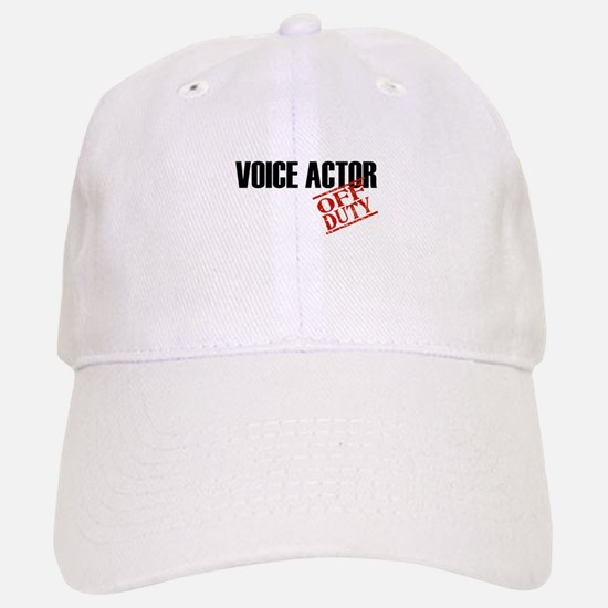 Off Duty Voice Actor Cap