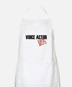 Off Duty Voice Actor BBQ Apron