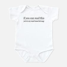 Round House Kick Range Infant Bodysuit