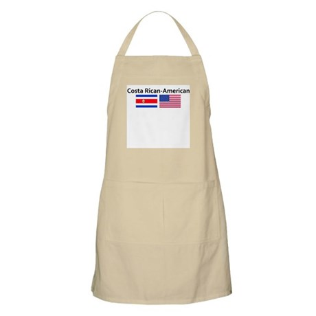 Costa Rican American BBQ Apron