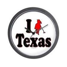 I Polo Texas! Wall Clock