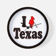 I Polo Texas! Wall Clock