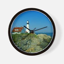 Portland Head Light Wall Clock