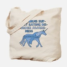 Unicorns Support Eating Disorder Awarenes Tote Bag