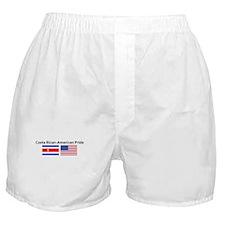 Costa Rican American Pride Boxer Shorts