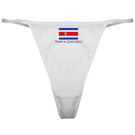 Made in Costa Rica Classic Thong
