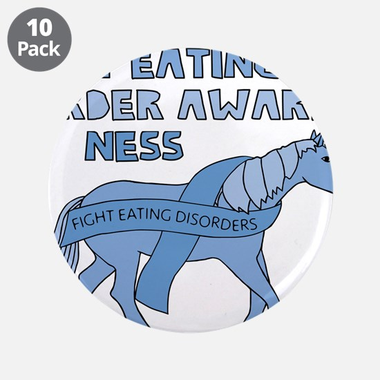 "Unicorns Support Eating Diso 3.5"" Button (10 pack)"