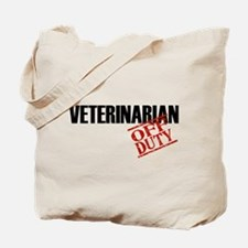 Off Duty Veterinarian Tote Bag