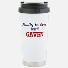 Madly in love with Gave Stainless Steel Travel Mug