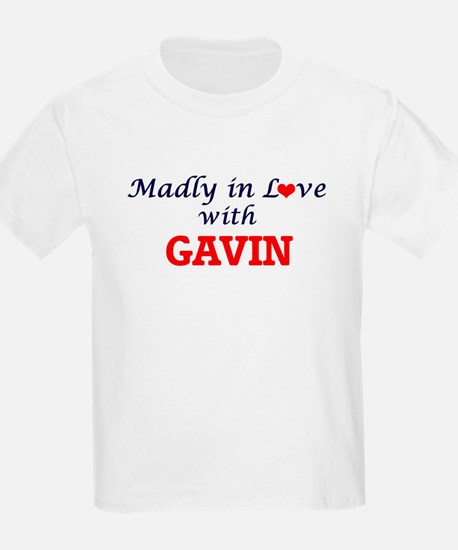 Madly in love with Gavin T-Shirt