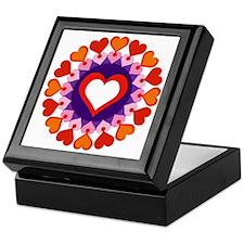 Heart Circle Keepsake Box
