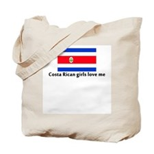 Costa Rican girls love me Tote Bag