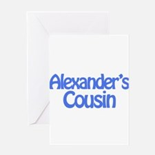 Alexander's Cousin Greeting Card