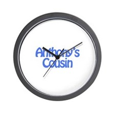 Anthony's Cousin Wall Clock