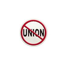 Anti-Union Mini Button (10 pack)