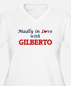Madly in love with Gilberto Plus Size T-Shirt