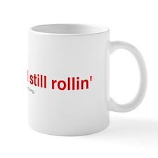 'no colon and still rollin' Mug