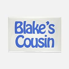 Blake's Cousin Rectangle Magnet