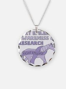 Unicorns Support Epilepsy Aw Necklace
