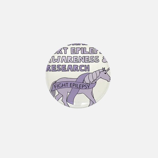 Unicorns Support Epilepsy Aw Mini Button (10 pack)