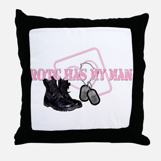 ROTC Has My Heart Throw Pillow