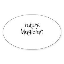 Future Magician Oval Decal