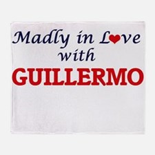 Madly in love with Guillermo Throw Blanket
