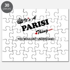 PARISI thing, you wouldn't understand Puzzle