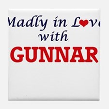 Madly in love with Gunnar Tile Coaster