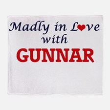 Madly in love with Gunnar Throw Blanket