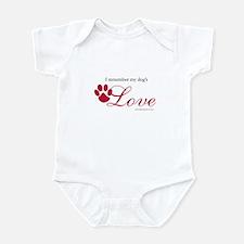 I Remember My Dog's Love Infant Bodysuit