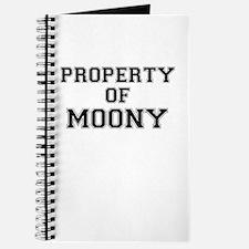 Property of MOONY Journal