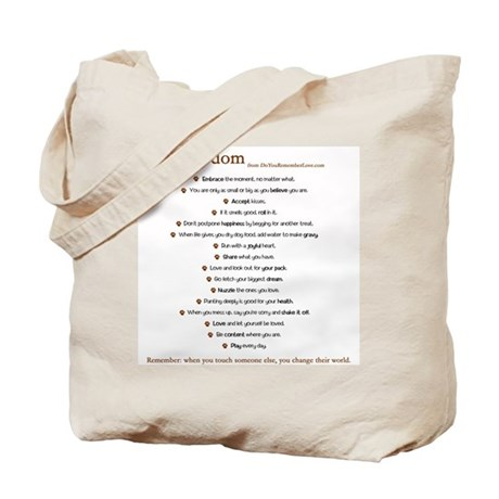 Pack Wisdom Tote Bag