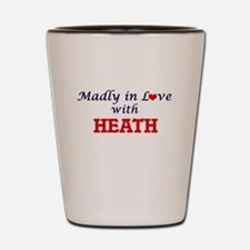 Madly in love with Heath Shot Glass