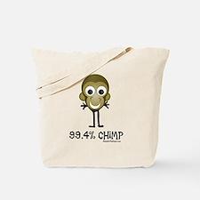 99.4% Chimp Tote Bag