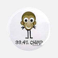 "99.4% Chimp 3.5"" Button (100 pack)"