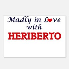 Madly in love with Heribe Postcards (Package of 8)