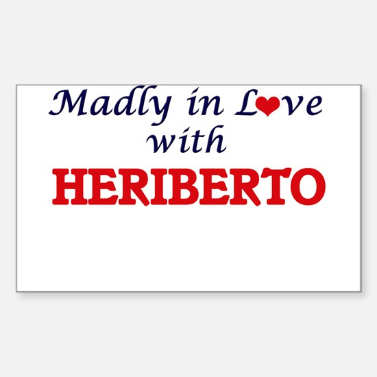 Madly in love with Heriberto Decal