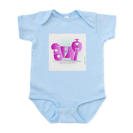 Sophia Pink Shihtzu Infant Bodysuit