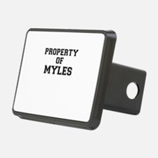 Property of MYLES Hitch Cover