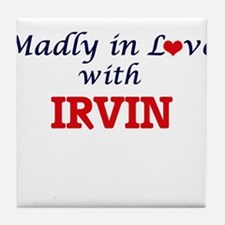 Madly in love with Irvin Tile Coaster